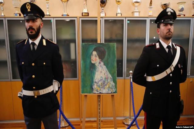 Piktura e Klimtit, e zhdukur për dekada, i kthehet Italisë