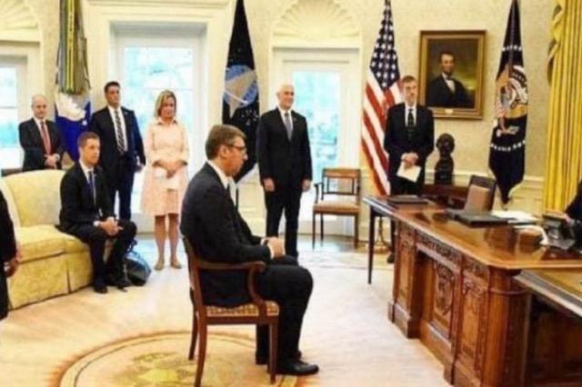 Vajton Vuçiq: Do të ishte më mirë për ne që të fitonte Donald Trump