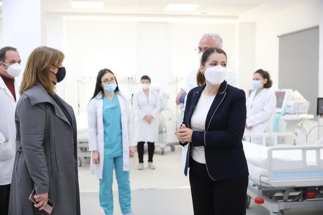 Manastirliu në spitalin Covid 4: Të bashkohemi për të mbrojtur shëndetin e njëri-tjetrit