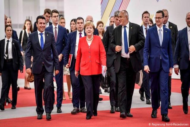 Angela Merkel merr pjesë në Samitin e Ballkanit Perëndimor