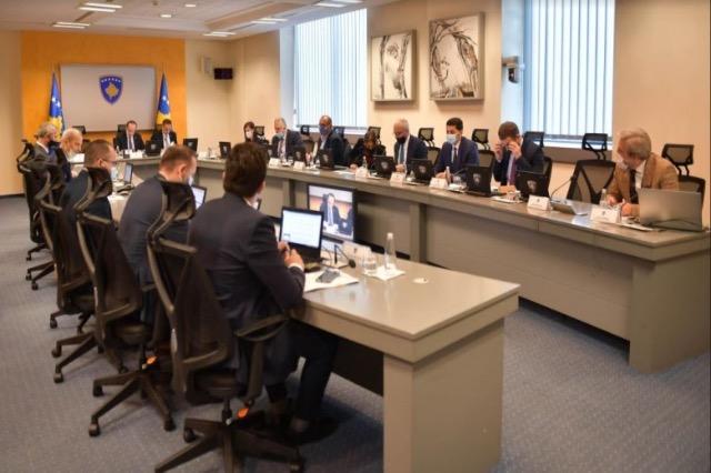 Vendimet që u morën në mbledhjen e sotme të qeverisë së Kosovës