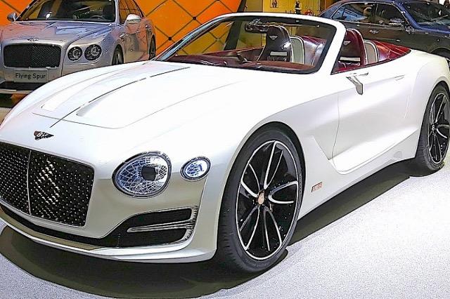 Prodhuesi luksoz/ Bentley elektrik deri në  vitin 2030