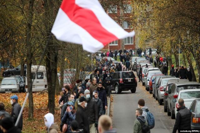 """Në Bjellorusi nis """"Marshi i Demokracisë"""""""