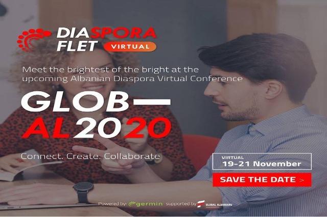 """Konferenca Virtuale """"Diaspora flet 2020"""", fjalime frymëzuese nga shqiptarë të famshëm"""