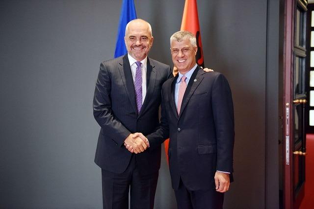 Dorëheqja e Hashim Thaçit si president i Kosovës, Rama: Ka gjjithë mbështetjen e Shqipërisë në këtë betejë!