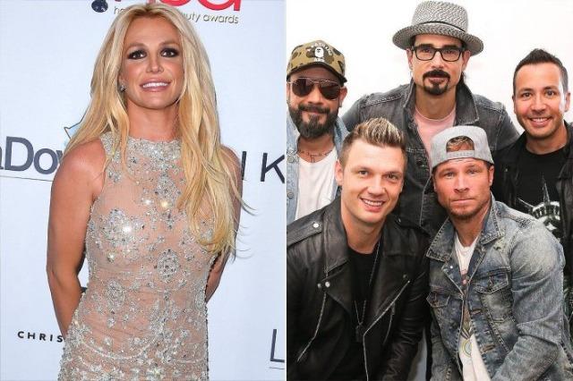 Britney Spears dhe Backstreet Boys prezantohen me një këngë së bashku