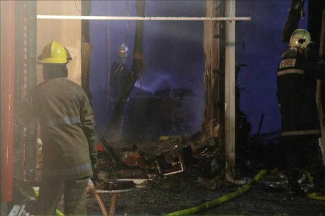 Maqedoni e Veriut, zjarr në një qendër tregtare në Strumicë