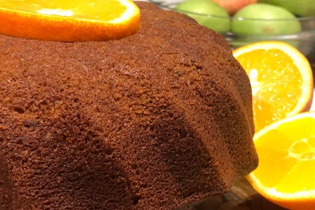Super kek me portokall dhe arra