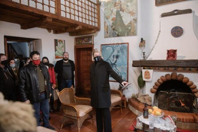 Përfundon faza e parë e restaurimit të banesës së piktorit Sali Shijakut