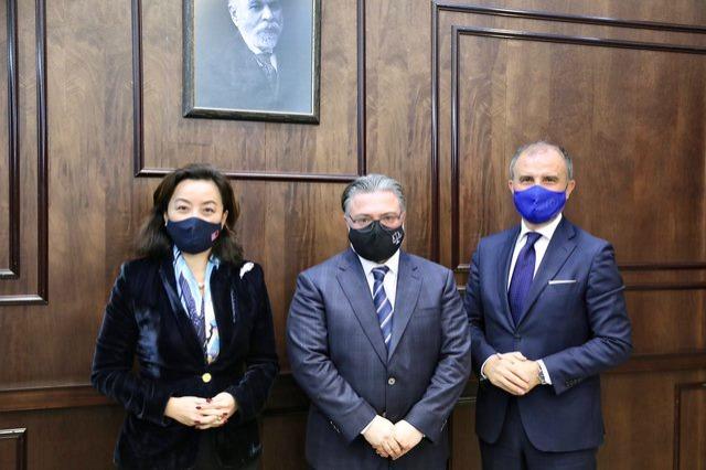 Ambasadorët Kim dhe Soreca takojnë kreun e KED: Koha për plotësimin e Gjykatës së Lartë dhe Kushtetuese