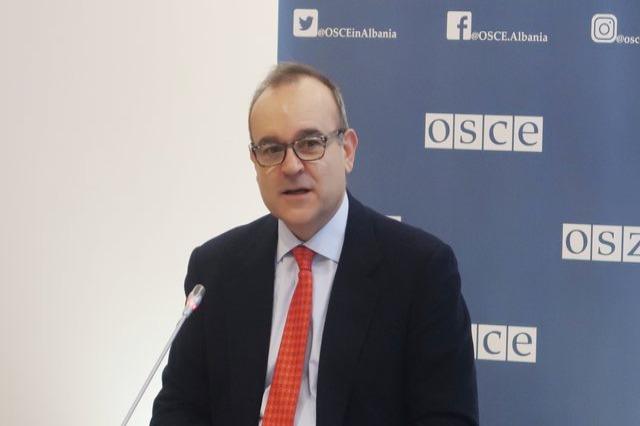 Ambasadori i OSBE-së, Del Monaco: Jemi partner kyç drejt zgjedhjeve të 25 prillit
