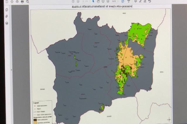Korçë, Krijohen hartat e rajonalizimit të kulturave bujqësore