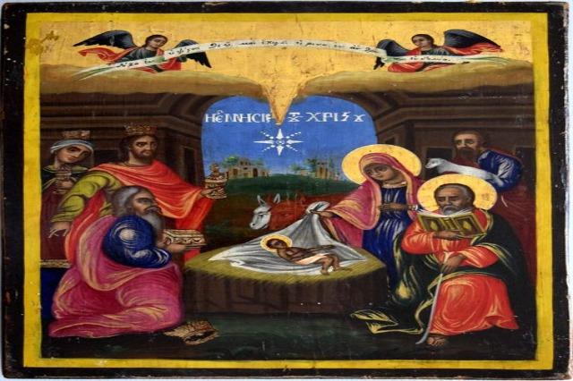 """""""Lindja e Krishtit"""", ikona e rrallë e Kishës së Shën Kollit të Rehovës"""