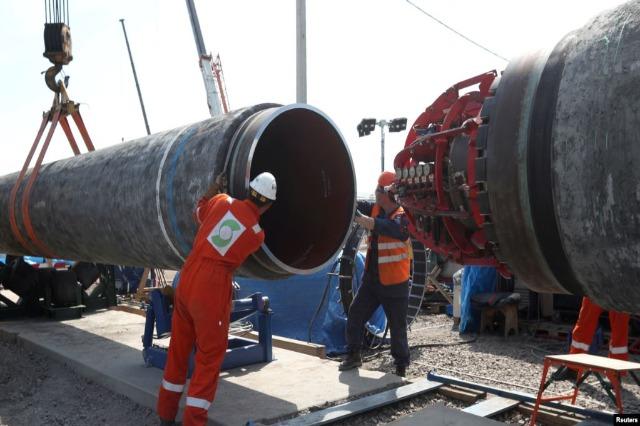 """Parlamenti Evropian: Të ndalet ndërtimi i """"Nord Stream 2"""""""