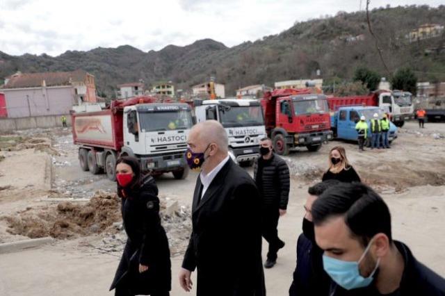 Kantieret e Rindërtimit në Vorë dhe qendra e rehabilituar shëndetësore në Rrogozhinë