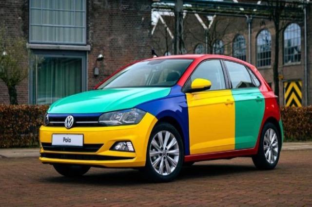 Volkswagen zbuloi makinën e saj më ngjyra në ditën më depresive