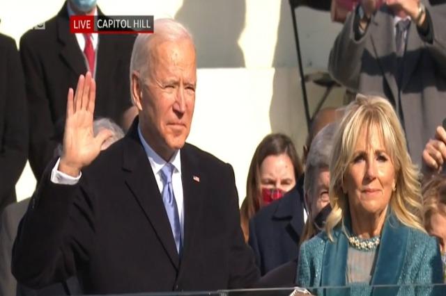 """Betohet Biden: """"Kjo është dita e Amerikës, demokracisë,e ripërtëritjes!"""""""