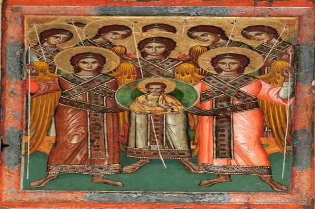 """""""Mbledhja e Kryeëngjëjve"""", një ndër ikonat më të bukura në Muzeun e Artit Mesjetar"""