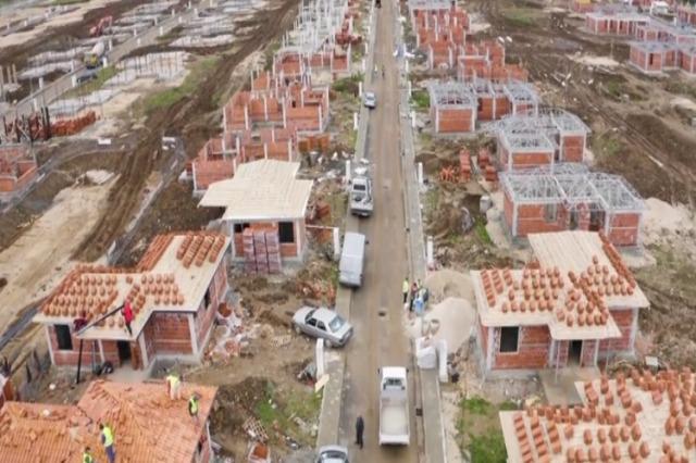 Fushë-Krujë, merr formë Lagjia e Rilindjes, banesa me kushte pakrahasimisht më të mira për 1200 banorë
