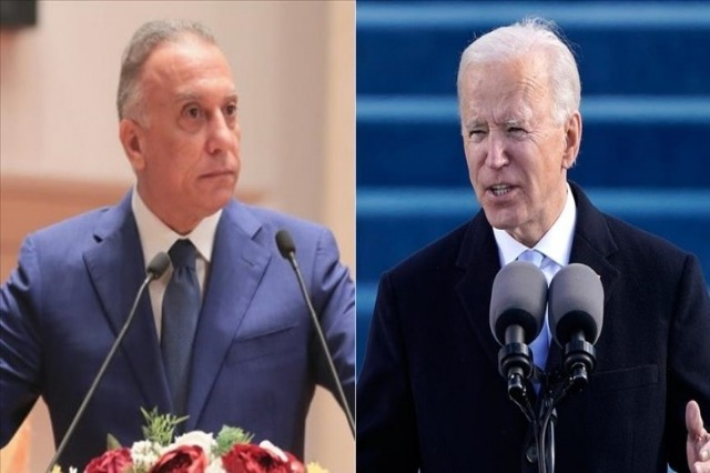 Biden dhe Al-Kadhimi diskutojnë sulmet e fundit me raketa në Irak