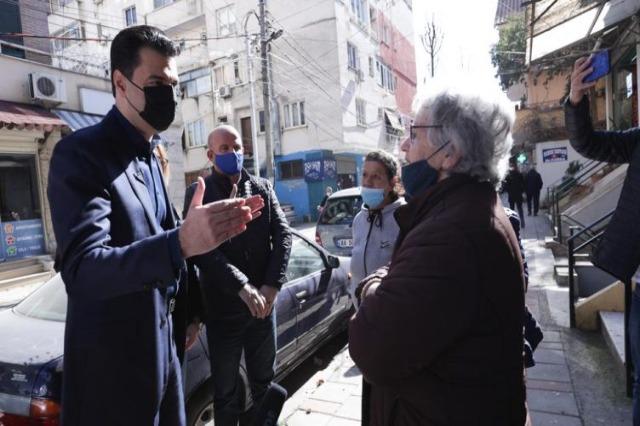 Basha në njësinë 7 në Tiranë: PD ka një plan do të shpëtojë ekonominë nga rrënimi!