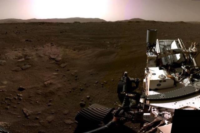 Rover i NASA-s dërgoi tingujt e parë nga Marsi dhe na ofroi një pamje prej 360 shkallë