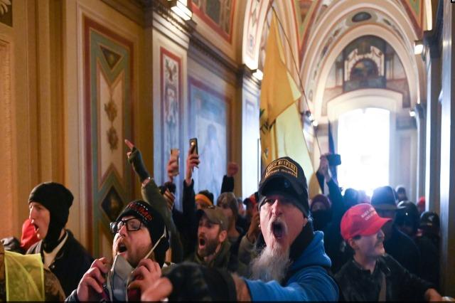 """Protestuesit në Kongres ishin """"të përgatitur për luftë"""""""
