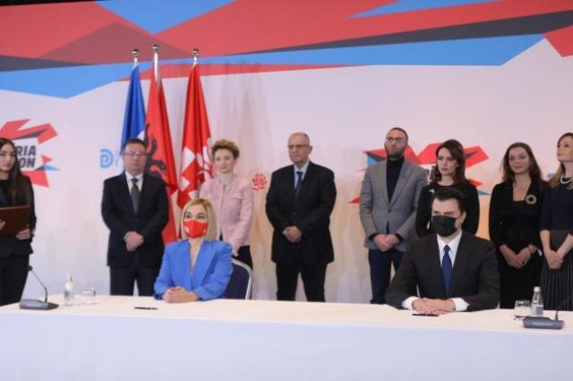 Zgjedhjet e 25 prillit, PD dhe LSI nënshkruajnë marrëveshjen e koalicionit paszgjedhor