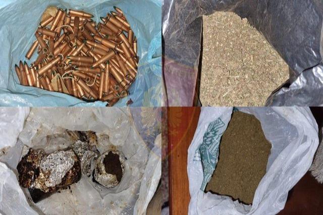 Me 9 mijë fara kanabisi dhe 196 fishekë arrestohet 46-vjeçari