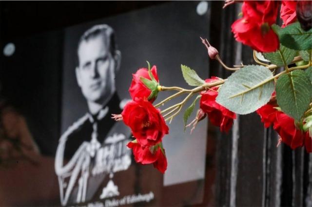 Funerali i Princit Philip, Buckingham Palace publikon detajet