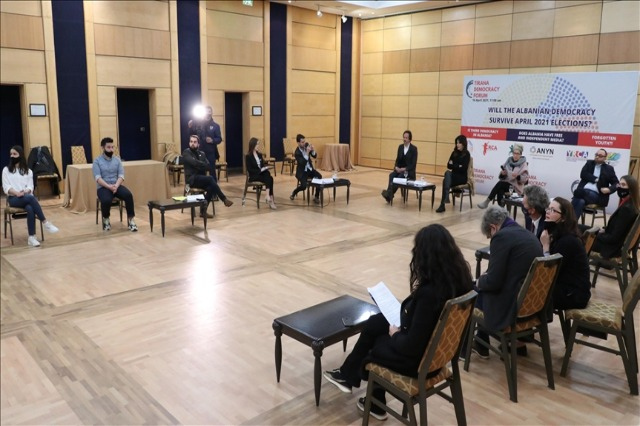 """""""Forumi i Demokracisë"""",  përfaqësues të shoqërisë civile, të shqetësuar për proceset demokratike në vend"""