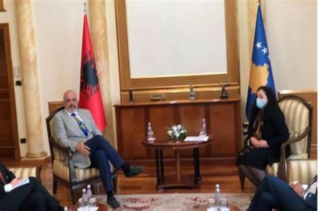Rama përshëndet zgjedhjen e Osmanit si president e Kosovës