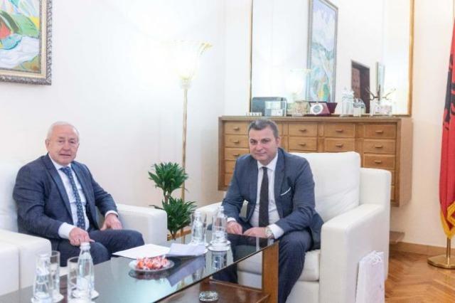 Shqipëri-Ukrainë, forcim të bashkëpunimit në sektorin bankar