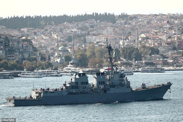 Turqia: SHBA anulon kalimin e anijeve për në Detin e Zi