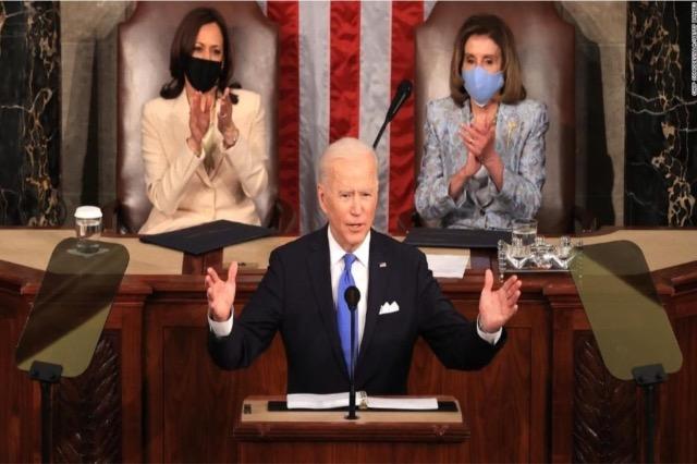 Presidenti Biden prezanton në Kongres nismat gjithëpërfshirëse të administratës së tij