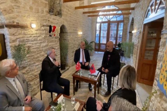 Delegacioni turk në Shqipëri, projekti i përbashkët për restaurimin e shtëpive në Berat dhe Gjirokastër