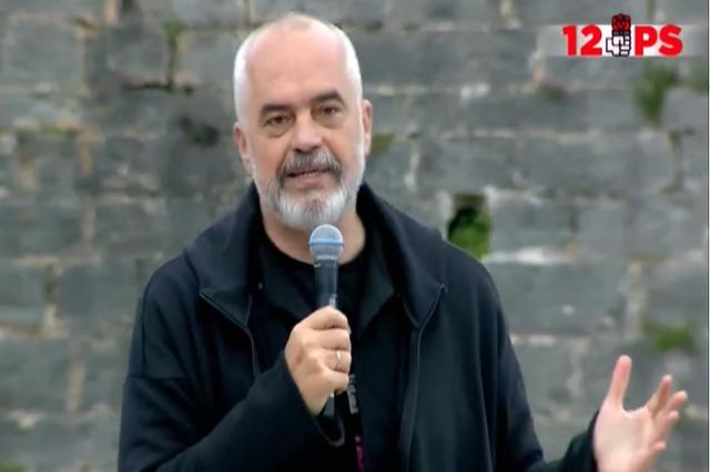 """""""Kanë gjetur kryeministrin e gabuar për të sfiduar""""/ Rama: Berisha e Meta mbajnë peng aeroportin"""