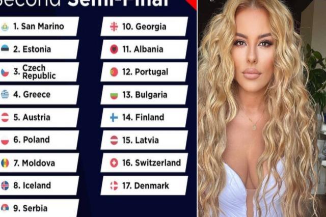 Eurovision Song Contest 2021, Anxhela Peristeri përformon e 11-ta në natën e dytë gjysmëfinale