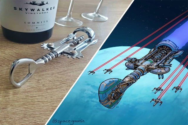 Artisti kthen gjërat e përditshme në anije kozmike