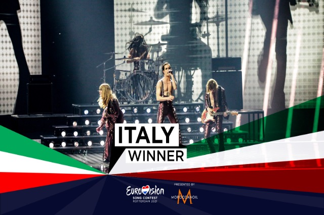Italia fiton Eurovision Song Contest 2021