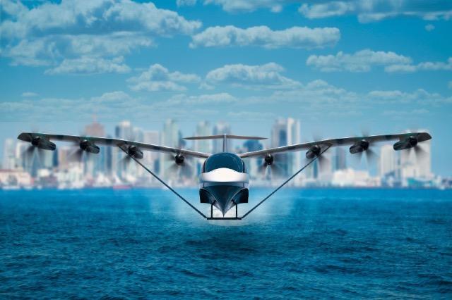 """Varkë apo aeroplan? """"Rrëshqitësi i detit"""" arrin një shpejtësi prej 290 km/h"""