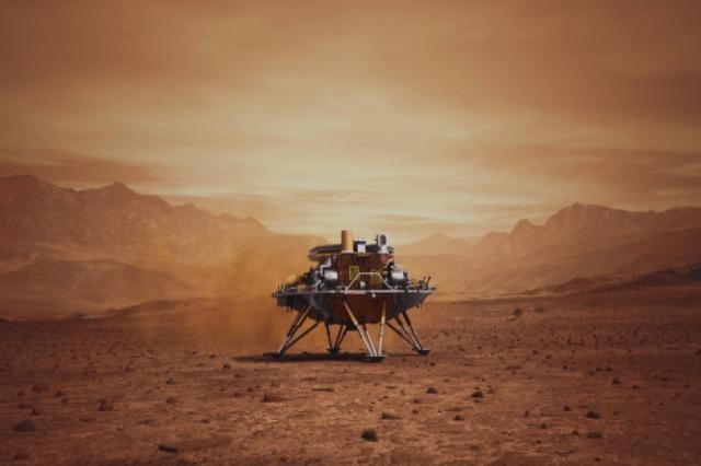 Sonda kineze zbret në Mars