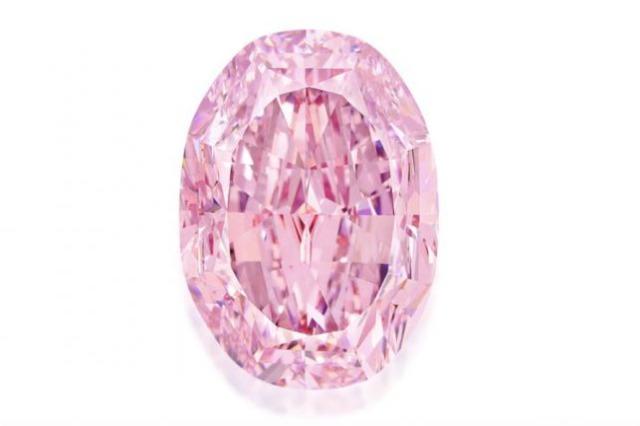 Diamanti më i madh rozë në ankand