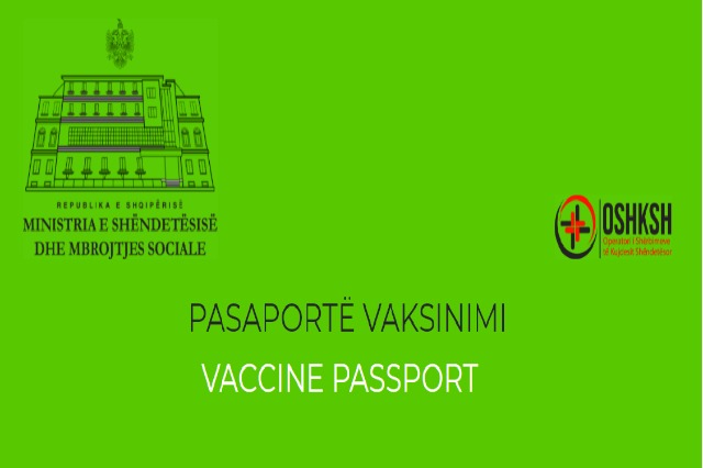 Pasaporta e gjelbër e vaksinimit, çdo i vaksinuar e gjen në e-Albania