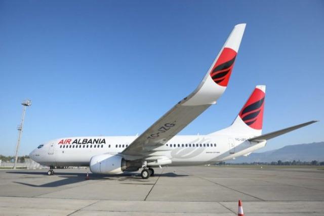"""Aeroporti Ndërkombëtar """"Nënë Tereza"""", 19 fluturime të konfirmuara për sot"""