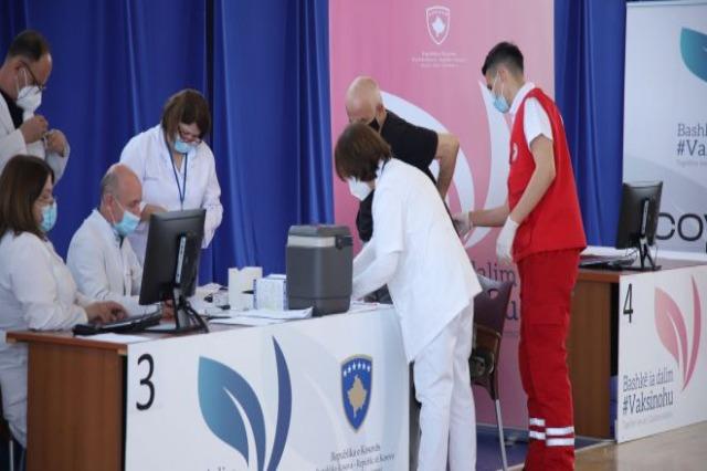 Kosovë, mbi 5700 raste aktive me COVID-19, rifillon vaksinimi në të gjithë vendin