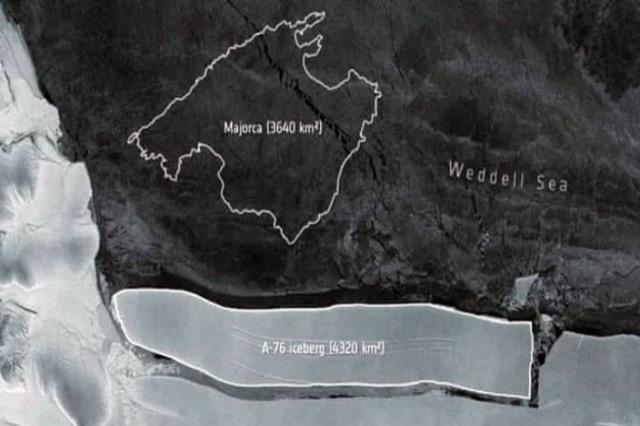 Akullnaja më e madhe në botë është shkëputur nga Antarktida