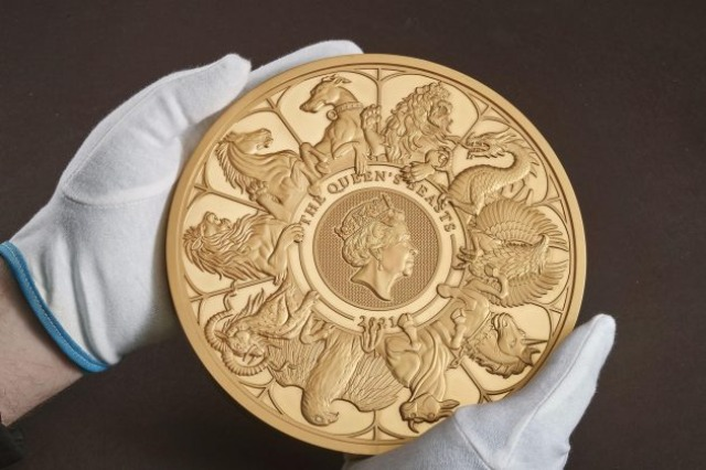 Thesari Mbretëror britanik prodhon monedhën e artë më të madhe në 1 100 vjet
