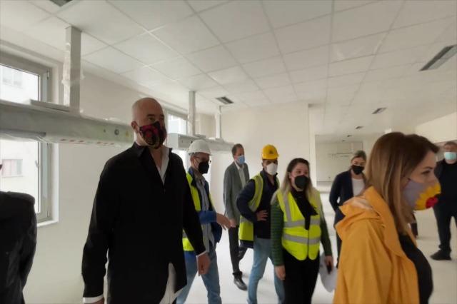 Spitali i ri i Sëmundjeve të Brendshme përfundon brenda vitit. Investim i qeverisë 14.8 milionë euro, përfitojnë 109 mijë pacientë