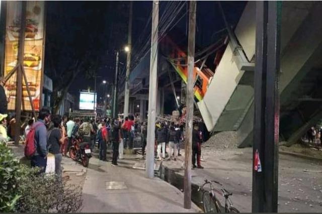 Shembet ura e metrosë në Mexico City, të paktën 15 viktima